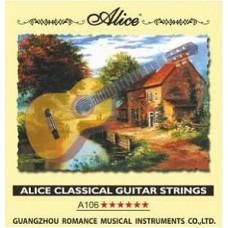 Струны для классической гитары ALICE A106-H