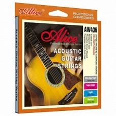 Струны для акустической гитары Alice AW436-SL