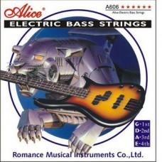 Струны для бас-гитары Alice A606