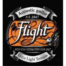 Струны для акустической гитары FLIGHT AS1047