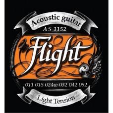Струны для акустической гитары FLIGHT AS1152