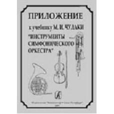 Инструменты симфонического оркестра. Приложение к учебнику М.И. Чулаки