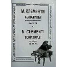 Муцио Клементи.  Сонатины. Соч. 37, 38.